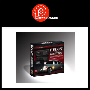 Recon SMOKED Dually Fender Lights 264136BK For 11-18 Ford Superduty