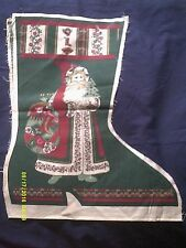 """Spring Industries """"Victoriana Christmas Stockings"""" Printed Fabric 8 Sets plus"""