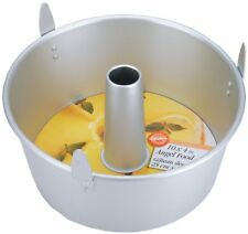 "Wilton 10 ""x 4"" Round Angel Food Cake Baking Decorating Dessert Aluminum Tin"