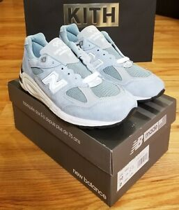 New Balance 990v2 Kith Instore Exclusive Stone Blue US size 10 M990KH2 DS New