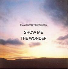 "Manic Street Preachers Show Me The Wonder 7"" Vinyl European Sony 2013 Limited"