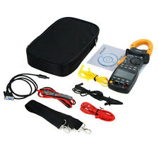 MS2205 Clamp Meter AC RMS Active Power Factor Passive Frequency Harmonic Test
