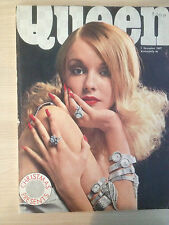 QUEEN Magazine British Edition December 01,1967 Collector Fashion Vintage Mode