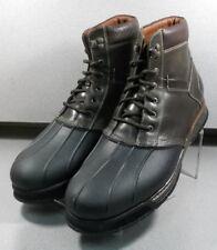 252828 PFBT40 Men's Shoes Size 12 M Brown Leather Boots Johnston & Murphy