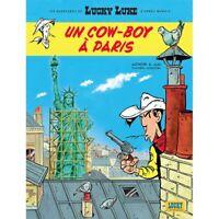 Postcard Lucky Luke Album: Un cowboy à Paris (10x15cm)