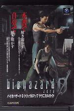 JAPAN Biohazard: Resident Evil Zero Trick & Map Technical Guide (Book)