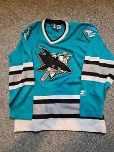 San Jose Sharks NHL Jersey Starter Size M