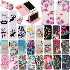 For iPhone X 8 7 6S Plus 5S Luxury Flip PU Leather Wallet Card Case Cover Stand
