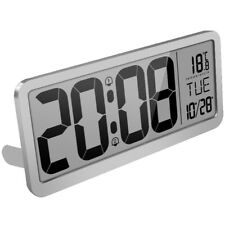 Extra Large Digital Wall Clock,Desk Clock,Auto Time Self Setting Alarm Clo C1S3