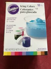 Icing Colors 1/2 Ounce 12/Pkg-Assorted Colors 070896558008
