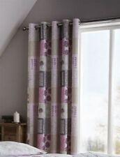 Rideaux et cantonnières à motif Floral polyester pour la chambre