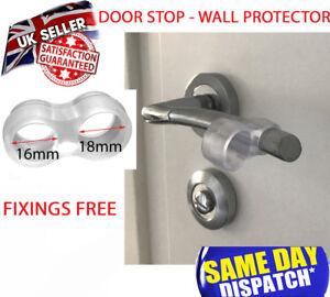 Door Handle Stop Wall Protector Guard Buffer Silicon Fixing Free Door Stopper