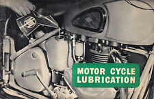 Castrol ~ MOTOR CYCLE LUBRICATION ~ 1958 ~ Original Classic Advertising
