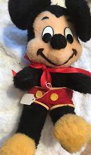 Vintage Mickey Mouse Disney Stuffed Animal Plush Doll