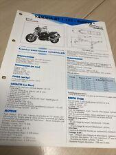 Yamaha BT1100 type 5JN1 2002 Bulldog Fiche technique moto RMT ETAI BT 1100