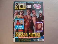 Scissor Sisters SPOT ON import cover magazine Jake Shears Del Marquis Joss Stone