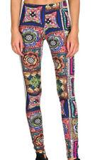 adidas Originals Womens X FARM Crochita Floral Print 3 Stripe Leggings New