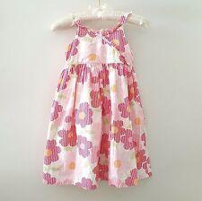 Talbots Kids Sundress Girl SIZE 6 Cotton Floral Dots