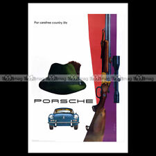#phpb.000631 Photo PORSCHE 1961 FOR CAREFREE COUNTRY LIFE Advert Reprint