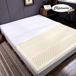 100% Full Natural Latex Mattress Single Double Size Hotel Massage Mattresses