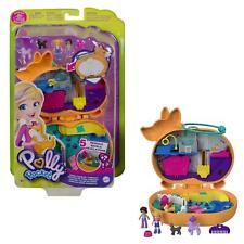 More details for polly pocket corgi cuddles compact inc 2 mini dolls new kids mattel