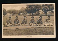 FIJI Fijian Meke c1930s? PPC Co Operative #167