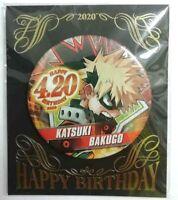 My Boku no Hero Academia Can Badge Jump Shop Limited Bakugo Katsuki JS