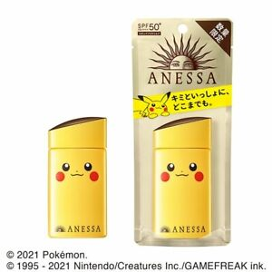Shiseido Japan Anessa Perfect UV Sunscreen Skincare Milk SPF50(60ml/2oz) Pokemon