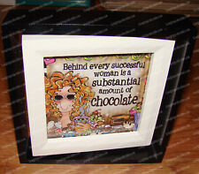 Chocolate Spin Frame (Suzy Toronto by Enesco, 4045920) Successful Woman