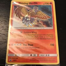 Pokemon Tcg: Shining Ho-Oh Sm70 - Holo Promo Card Shining Legends (Sealed) - Nm