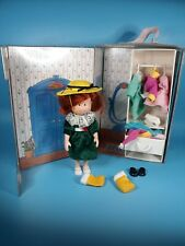 🔴 Vtg Madeline Orphanage Home 8� Doll Case & Clothes Lot 1995