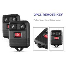 2x Car Key Fob Keyless Entry Remote Control Shell For Ford F150 F250 F-350 F-450