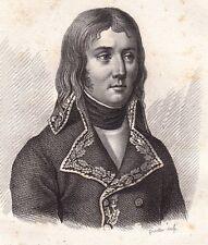 Général Jean Charles Abbatucci Corse Napoléon Bonaparte Premier Empire 1818