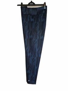 ST20 LADIES EX MARKS & SPENCER BLACK MIX WORKOUT GYM LEGGINGS PANTS ACTIVE M&S
