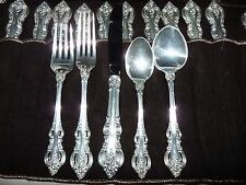 TOWLE Sterling Silver El Grandee 5-pc Place Setting 6 5/8 Oval Soup Spoon NOmono