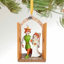 Disney Store Robin Hood and Maid Marian Sketchbook Ornament Wedding decoration