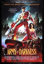 Army Of Darkness ✯ CineMasterpieces 1992 Ds Zombie Evil Dead Movie Poster