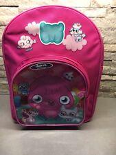 Moshi Monster Poppet And Friends Girls Pink Rucksack/School Bag BNWT