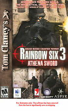 Rainbow Six 3: Athena Sword Mac Multiplayer PC CD Game * New Ship Free