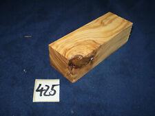Olive Schmuckholz für Holzschmuck basteln Edelholz 425