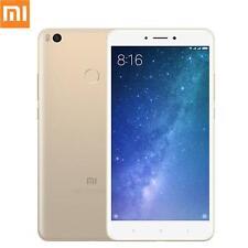 """Xiaomi MI Max 2 64GB/4GB 6.44"""" Unlocked Smartphone Gold UU"""