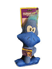 Multipet Knotted Duck Squeaky Dog Toy