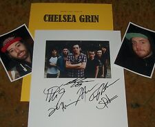 CHELSEA GRIN Autographed PHOTO & Photos  -REAL HOT