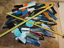 STAINED GLASS 12 Pounds PREMIUM SCRAP FOR Mosaic Art Glass Art Mosaic Tile