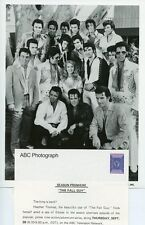 HEATHER THOMAS ELVIS PRESLEY LOOKALIKES THE FALL GUY ORIGINAL 1985 ABC TV PHOTO