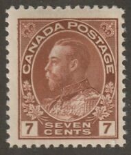 """Canada 1924 #114 King George V """"Admiral"""" Issue - Fine MH"""