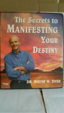 Wayne Dyer Secrets To Manifesting Your Destiny. Nightingale Conant Tape Set 136