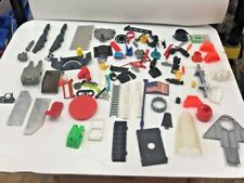 Gi Joe & Other Action Figure Parts, Accessories, Guns, Etc. 1980's As Pictured