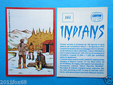 figurines figuren figurer stickers picture cards figurine indians 161 center tv