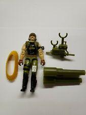 Hasbro 1989 G.I. Joe Backblast loose Action Figure w/ Parts lot Arah